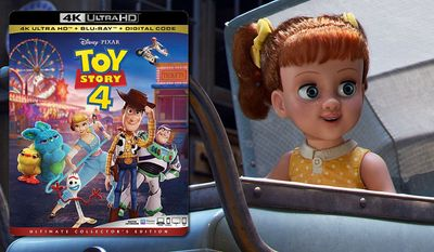"""The doll Gabby Gabby co-stars in """"Toy Story 4: Ultimate Collector's Edition,"""" now available on 4K Ultra HD from Walt Disney Studios Home Entertainment."""