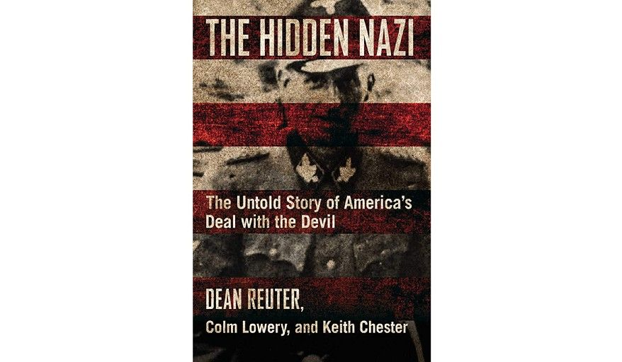 'The Hidden Nazi' (book jacket)