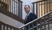 House Intelligence Committee Chairman Adam Schiff, of Calif., arrives for an expected meeting with former U.S. ambassador to Ukraine, Marie Yovanovitch, on Capitol Hill, Friday, Oct. 11, 2019, in Washington. (AP Photo/Alex Brandon)
