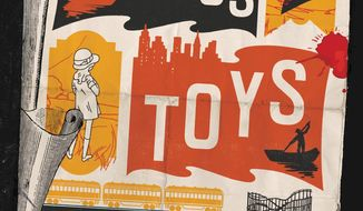 "This cover image released by Little, Brown and Co. shows ""Curious Toys,"" a novel by Elizabeth Hand. (Little, Brown and Co. via AP)"