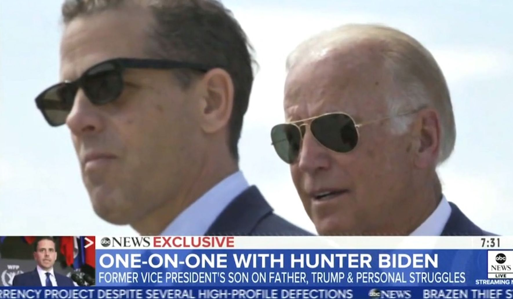 Hunter Biden blasts Trump kids as 'Barnum and Bailey' circus acts: 'This isn't real stuff'