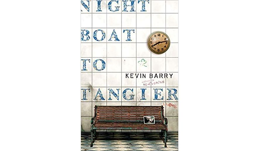 'Night Boat to Tangier' (book jacket)