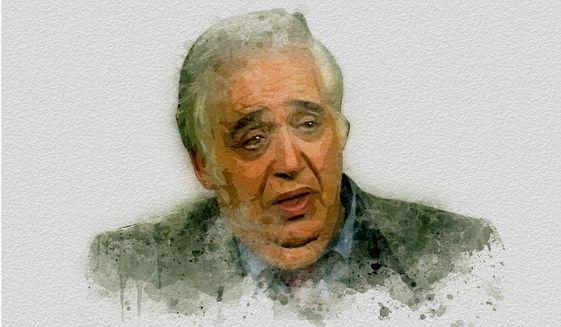 Harold Bloom Portrait by Greg Groesch/The Washington Times