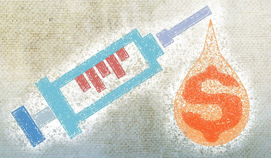 Insulin Crisis Illustration by Greg Groesch/The Washington Times