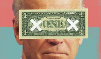 Joe Biden illustration by Linas Garsys