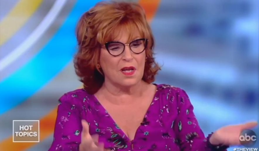 """Joy Behar of ABC's """"The View"""" discusses her recent trip to London, Oct. 17, 2019. She told her colleagues that part of her vacation included an argument with a stranger who supported President Trump. (Image: ABC, """"The View"""" screenshot)"""
