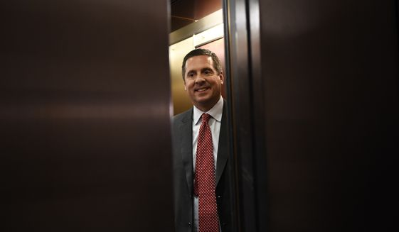 Rep. Devin Nunes, California Republican, flatly says Joseph Mifsud is no Russian informant. He has asked the State Department, the FBI and other agencies for information about the professor, who has been out of sight for months. (AP Photo/Susan Walsh)