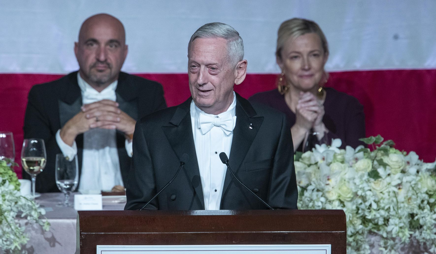 'Overrated' James Mattis zings Trump at white-tie gala