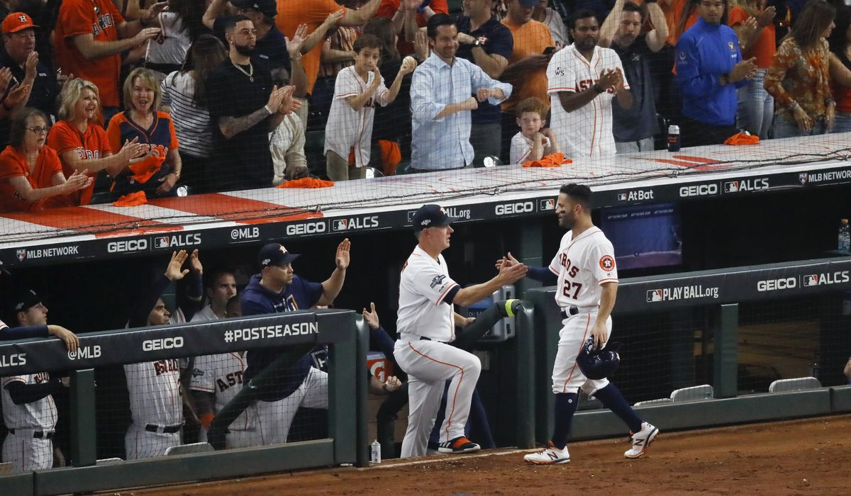 Astros win ALCS on Jose Altuve`s home run, will play Nationals in World Series