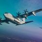 KC-130J HERCULES                                                                                                                                         Marine Corps KC-130J Hercules aircraft with Marine Aerial Refueler Transport Squadron 152 and VMGR-252, conduct division tactical navigation training as part of unit-level training Evergreen at Naval Air Station Whidbey Island, Washington, Aug. 14, 2017.