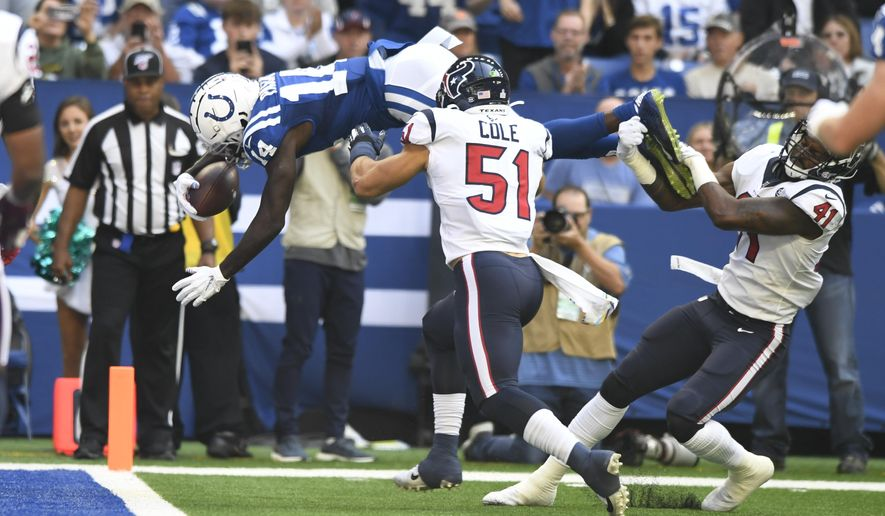 Brissett S Big Day Leads Indy Past Texans For Afc South Lead Washington Times