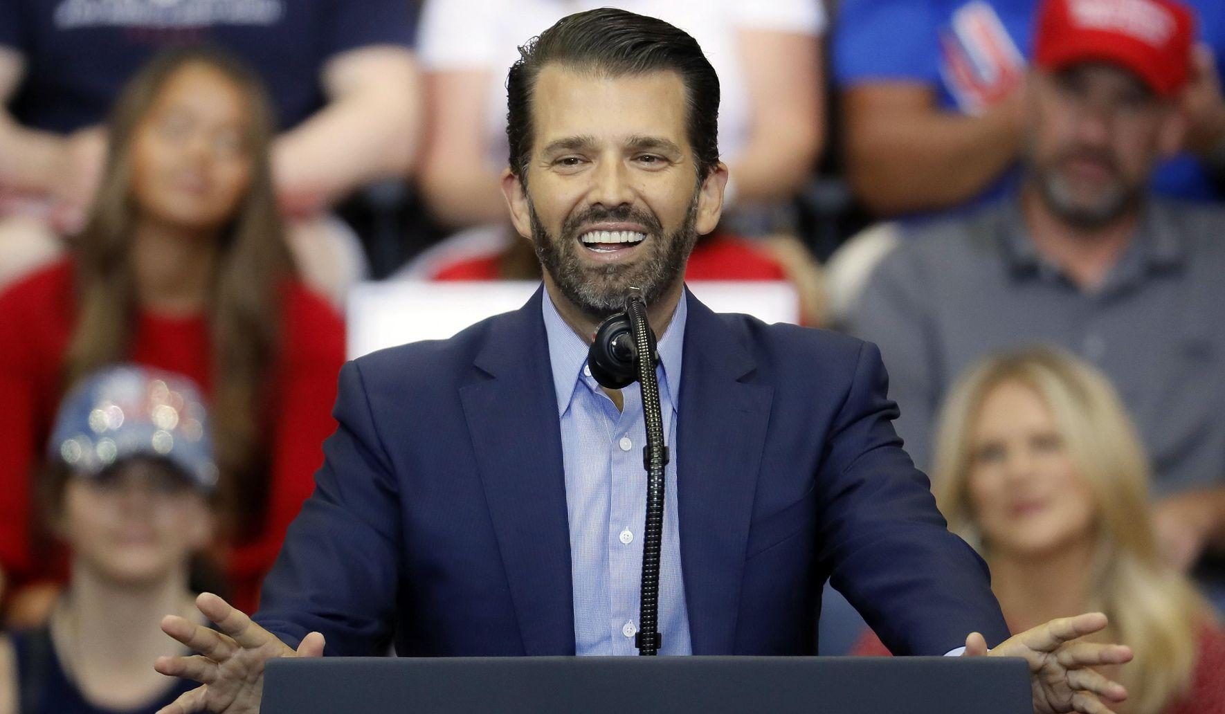'He's the future': Donald Trump Jr. '2024' chants underscore rising stardom