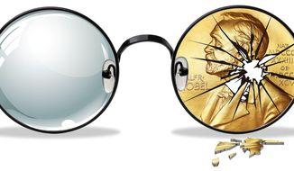 Broken Glasses Illustration by Greg Groesch/The Washington Times