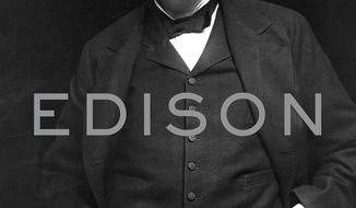 "This cover image released by Random House shows ""Edison"" by Edmund Morris. (Random House via AP)"