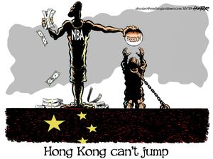 Hong Kong can't jump