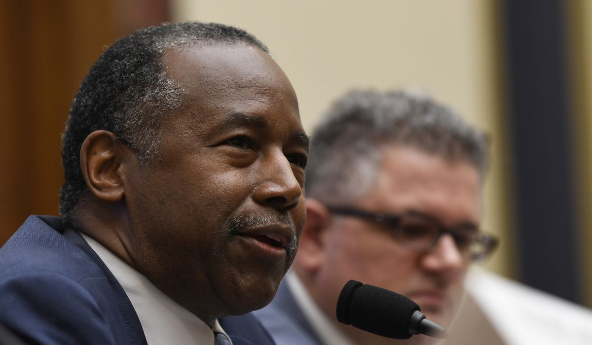Ben Carson blasts 'true career politician' Maxine Waters: 'Basic manners elude you'