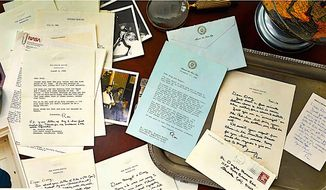 A newly discovered collection of letters from Ronald Reagan to a close friend reveals much about the 40th president. (Courtesy of The Raab Collection)
