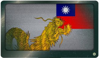 China Threat to Taiwan Illustration by Greg Groesch/The Washington Times
