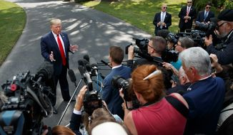 """The media is ramping up the urgency of impeachment news coverage. The """"inquiry"""" is progressing at a rapid pace, says one analysis. (Associated Press)"""