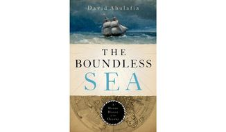 'The Boundless Sea' (book jacket)