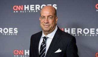 """This Dec. 9, 2018, file photo shows CNN Worldwide President Jeff Zucker at the 12th annual """"CNN Heroes: An All-Star Tribute"""" in New York. (Photo by Evan Agostini/Invision/AP, File)"""