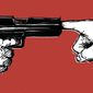 Illustration on gun control by Paul Tong/Tribune Content Agency