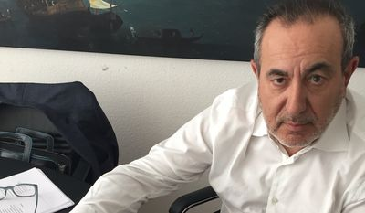 Maltese professor Joseph Mifsud pictured in May 2018. Photo provided by his lawyer, Stephan Roh.