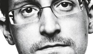 """This cover image released by Metropolitan Books shows """"Permanent Record,"""" a memoir by Edward Snowden. The former CIA and National Security Agency systems engineer is now a digital privacy activist living in exile in Russia, charged with Espionage Act violations for which he says his conscience offered no other option. (Metropolitan Books via AP)"""