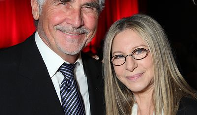 Actor James Brolin married singer Barbra Streisand who is worth approximately $50 million