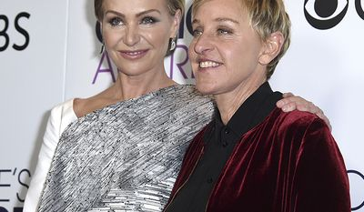 Actress Portia de Rossi married talk show host Ellen DeGeneres who is worth approximately $450 million