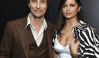 Brazilian model Camila Alves is married to actor Matthew McConaughey who is worth $95 million