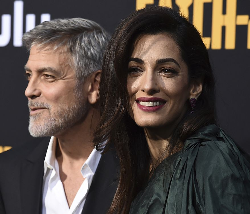 Human rights lawyer Amal Clooney married actor George Clooney who is worth $500 million