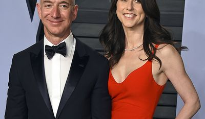 Mackenzie Bezos' ex is Amazon founder Jeff Bezos who's empire is worth over $110 billion