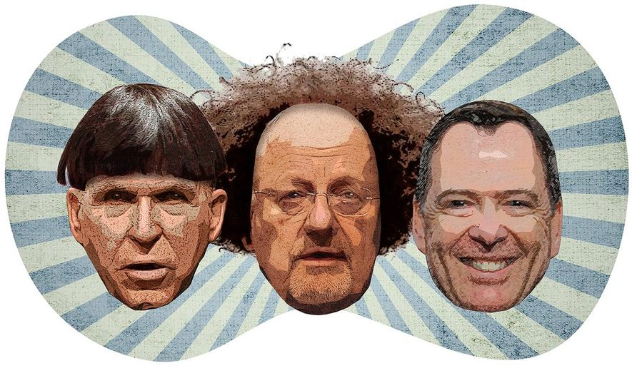 The Three Stooges Illustration by Greg Groesch/The Washington Times