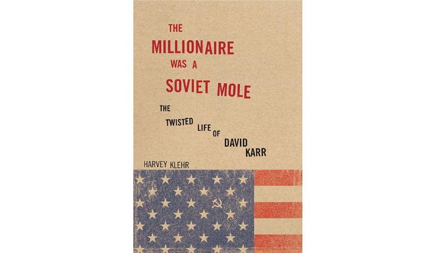 'The Millionaire Was a Soviet Mole' (book jacket)