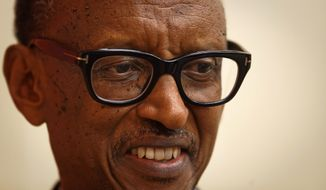 Rwandan President Paul Kagame, who officially came to power in 2000 after commanding a rebel force that ended the 1994 genocide, has helped spur economic development but crushed political freedoms and civil liberties, analysts say. (Associated Press/File)
