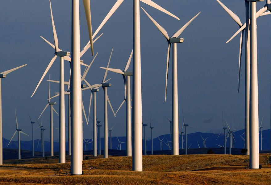 The International Energy Agency forecasts that offshore wind energy could become a $1 trillion industry by 2040, with major U.S. growth expected in next decade. (ASSOCIATED PRESS)