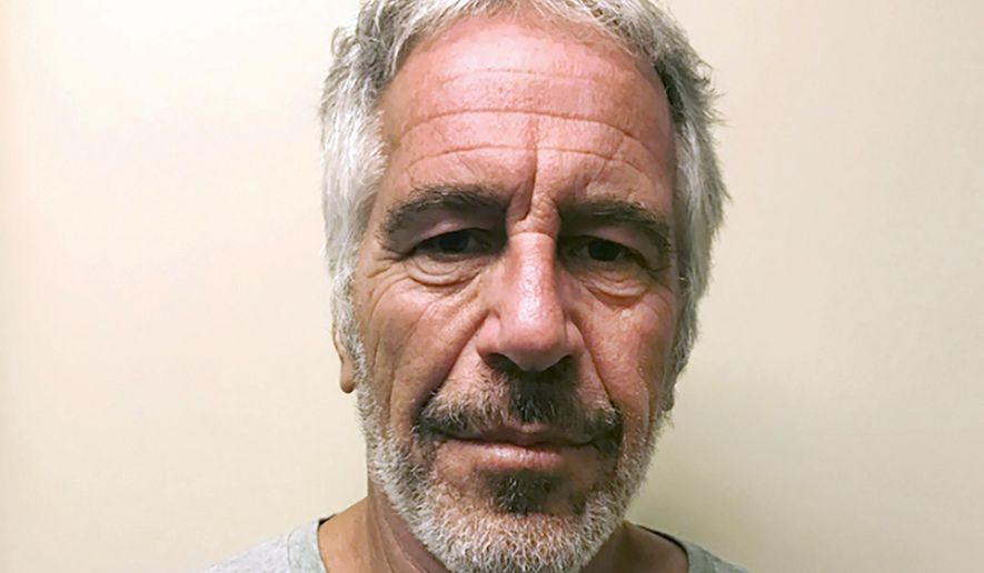 This March 28, 2017, file photo, provided by the New York State Sex Offender Registry, shows Jeffrey Epstein. (New York State Sex Offender Registry via AP, File)
