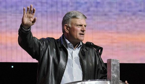 Evangelist Franklin Graham has called on Americans to pray for President Trump. (Associated Press) ** FILE **