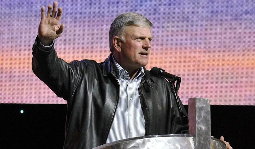 Evangelist Franklin Graham has called on Americans to pray for President Trump as the impeachment inquiry continues. (Associated Press)