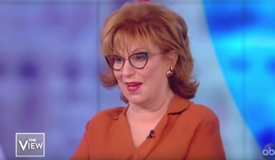 """Joy Behar of ABC's """"The View"""" gives advice to Democrats running for president, Nov. 4, 2019. (Image: ABC, """"The View"""" screenshot)"""