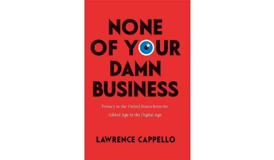 'None of Your Damn Business' (Book jacket)