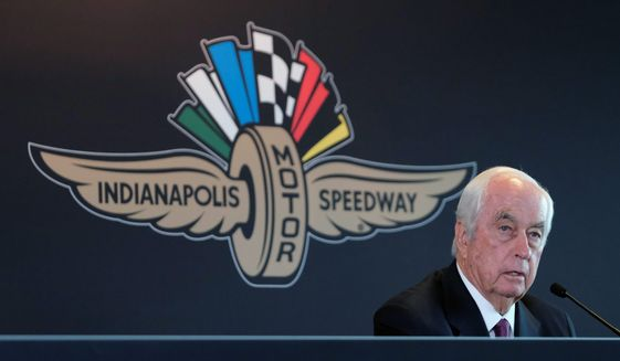 Roger Penske takes over the Indianapolis Motor Speedway in January. (Associated Press)