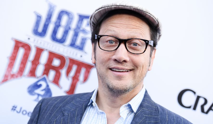 "Rob Schneider arrives at the LA Premiere of ""Joe Dirt 2: Beautiful Loser"" on Wednesday, June 24, 2015 in Culver City, Calif. (Photo by Richard Shotwell/Invision/AP)"