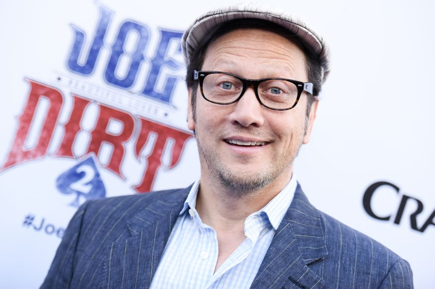 """Rob Schneider arrives at the LA Premiere of """"Joe Dirt 2: Beautiful Loser"""" on Wednesday, June 24, 2015 in Culver City, Calif. (Photo by Richard Shotwell/Invision/AP)"""