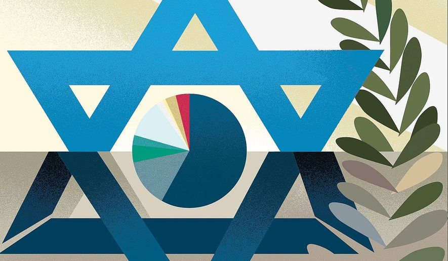 Israel illustration by Linas Garsys