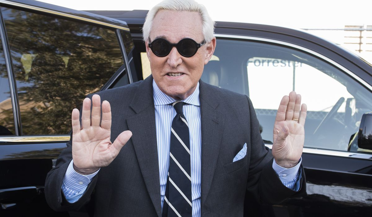 Roger Stone selling personalized video messages for $50 while challenging conviction