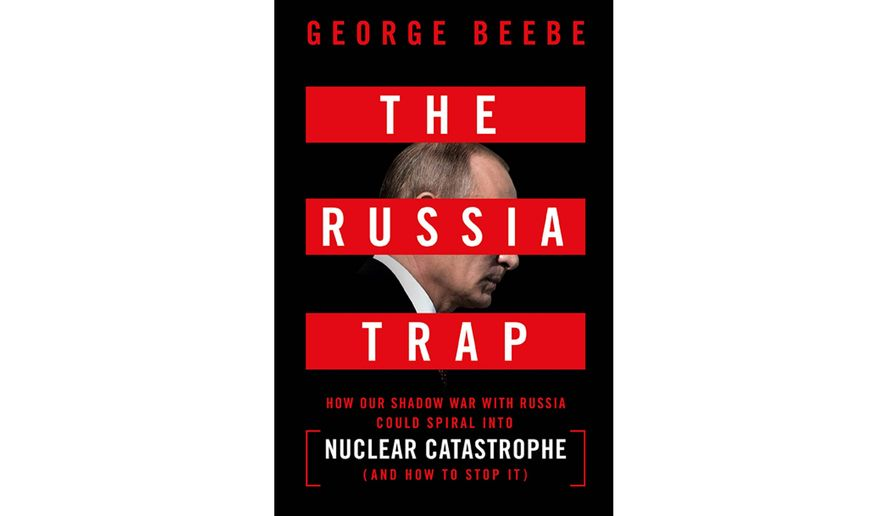 'The Russia Trap' (book jacket)
