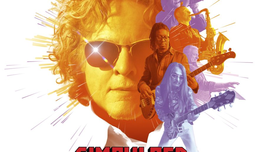 """This cover image released by BMG shows """"Blue Eyes Soul"""" by Simply Red. (BMG via AP)"""