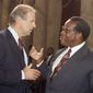 """""""I have no idea what he was talking about,"""" Justice Clarence Thomas said of then-Sen. Joseph R. Biden, who chaired the Senate Judiciary Committee. His 1991 confirmation is detailed in """"Created Equal: Clarence Thomas In His Own Words."""" (Associated Press)"""